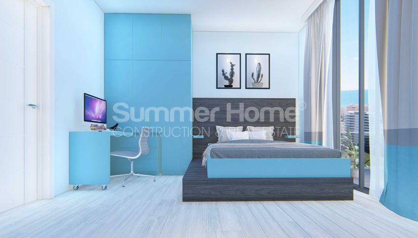 Appartements neufs avec vue sur la mer dans le quartier populaire d'Alanya, Mahmutlar interior - 12