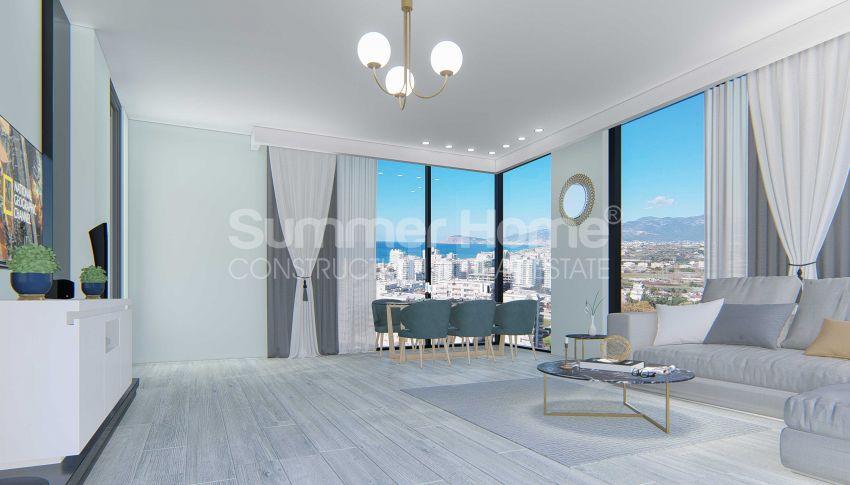 Appartements neufs avec vue sur la mer dans le quartier populaire d'Alanya, Mahmutlar interior - 13