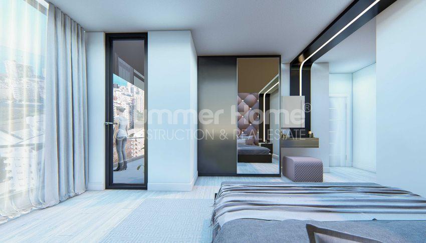 Appartements neufs avec vue sur la mer dans le quartier populaire d'Alanya, Mahmutlar interior - 14