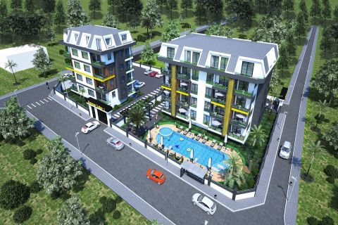 Affordable Apartments in Great Location With Many Amenities in Alanya