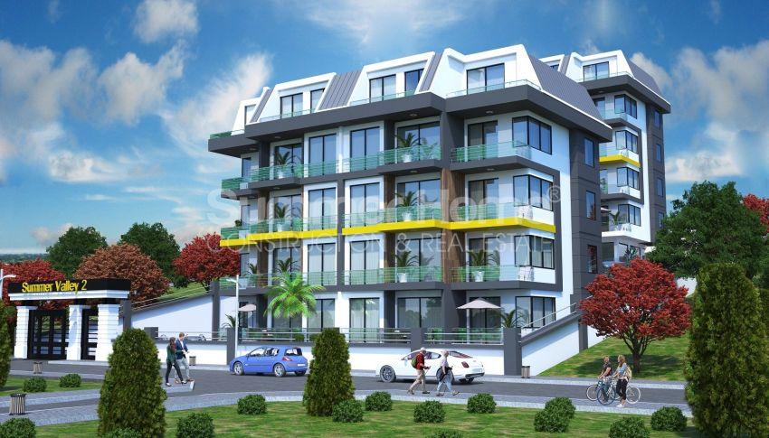 Appartements modernes entourés par la nature à Alanya, Kestel general - 1