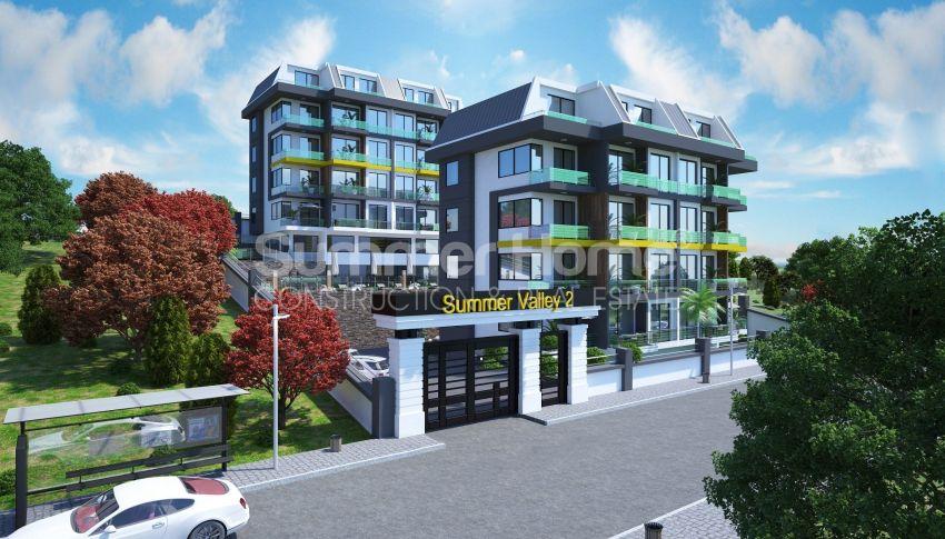 Appartements modernes entourés par la nature à Alanya, Kestel general - 11