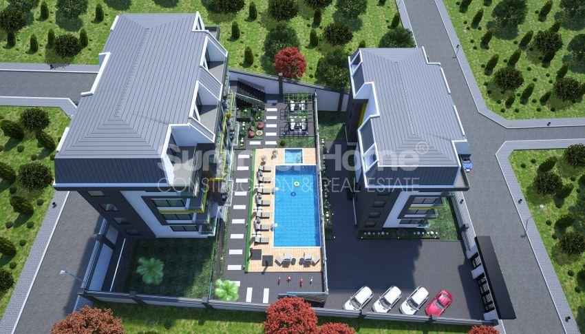 Appartements modernes entourés par la nature à Alanya, Kestel general - 12
