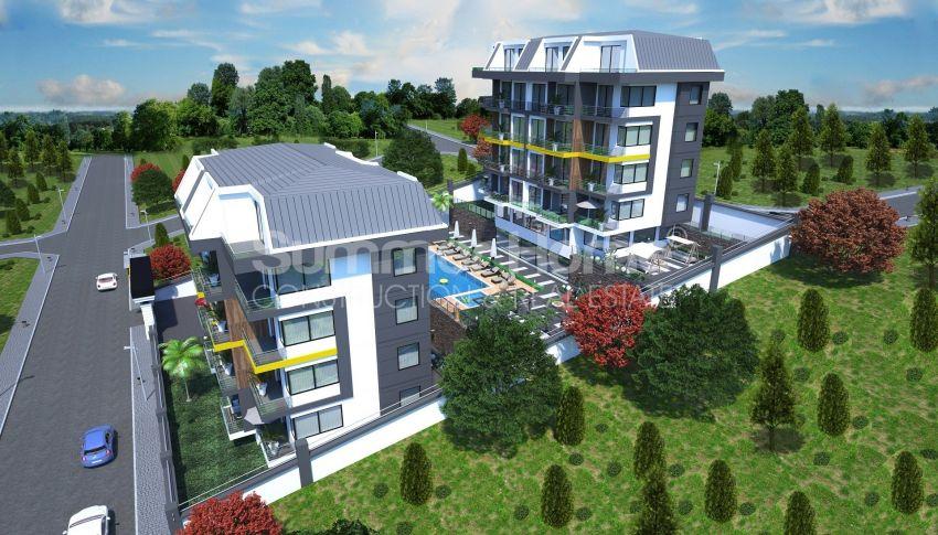 Appartements modernes entourés par la nature à Alanya, Kestel general - 13