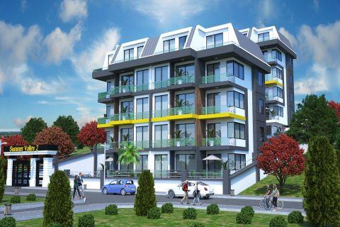 Moderne lejligheder naturskønt beliggende i Alanya, Kestel