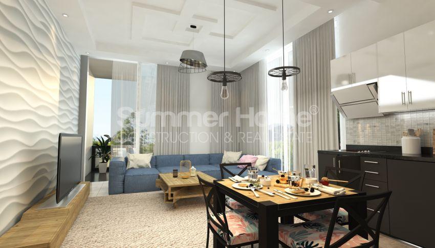 Appartements modernes entourés par la nature à Alanya, Kestel interior - 15