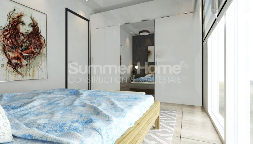 Appartements modernes entourés par la nature à Alanya, Kestel interior - 17