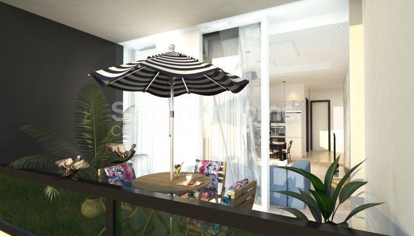 Appartements modernes entourés par la nature à Alanya, Kestel interior - 19
