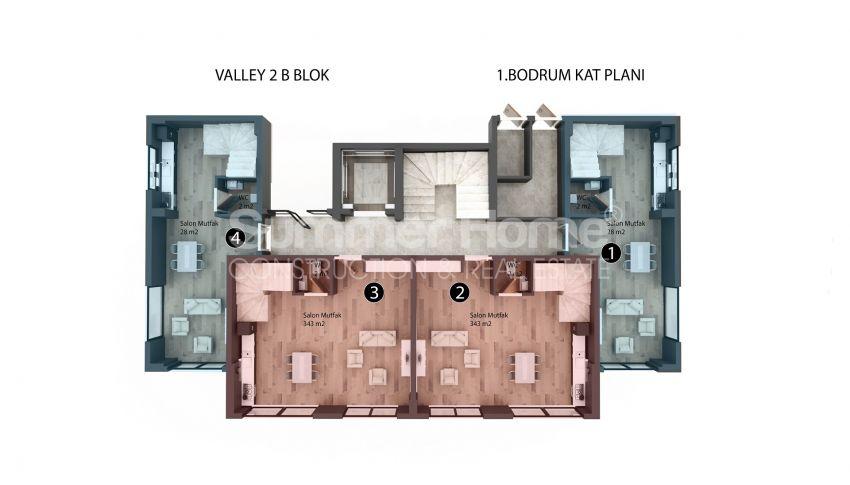 Appartements modernes entourés par la nature à Alanya, Kestel plan - 4