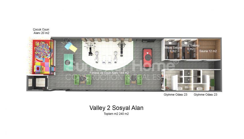 Appartements modernes entourés par la nature à Alanya, Kestel plan - 9