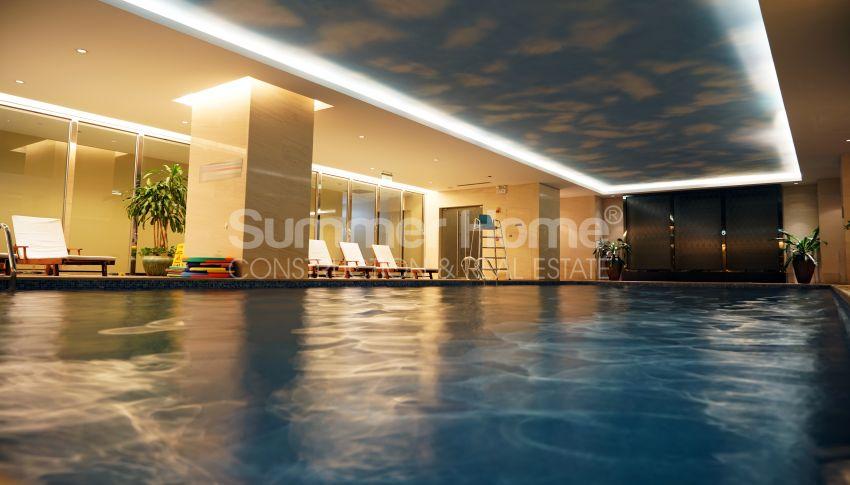 آپارتمان های شگفت انگیز روبروی ساحل  با موقعیت ایده آل در محمودلار، آلانیا facility - 11