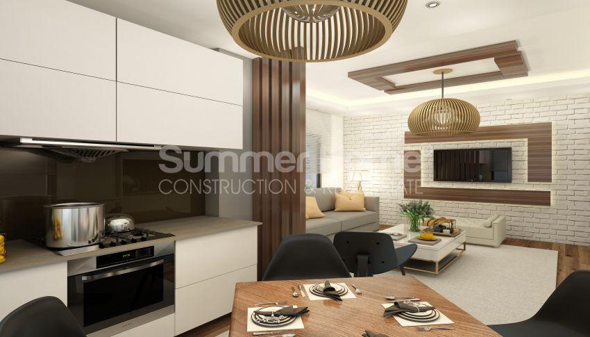 آپارتمان های شگفت انگیز روبروی ساحل  با موقعیت ایده آل در محمودلار، آلانیا interior - 4