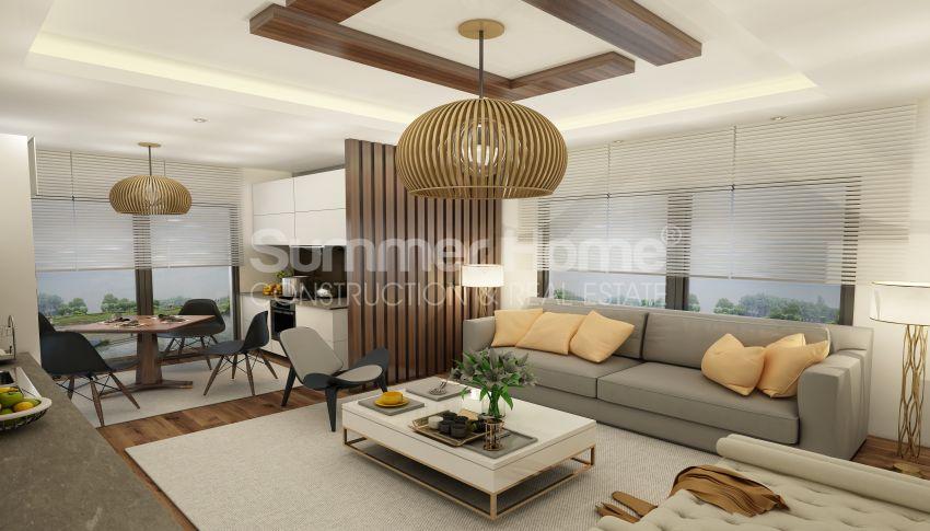 آپارتمان های شگفت انگیز روبروی ساحل  با موقعیت ایده آل در محمودلار، آلانیا interior - 5