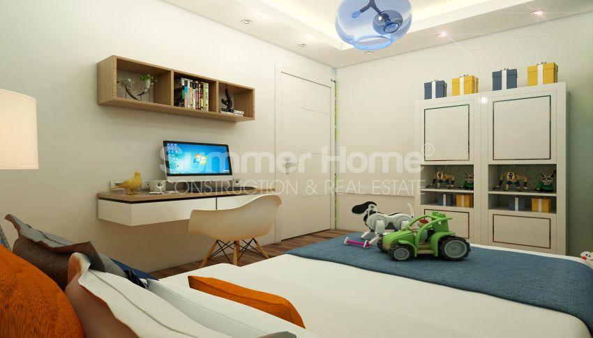 آپارتمان های شگفت انگیز روبروی ساحل  با موقعیت ایده آل در محمودلار، آلانیا interior - 6