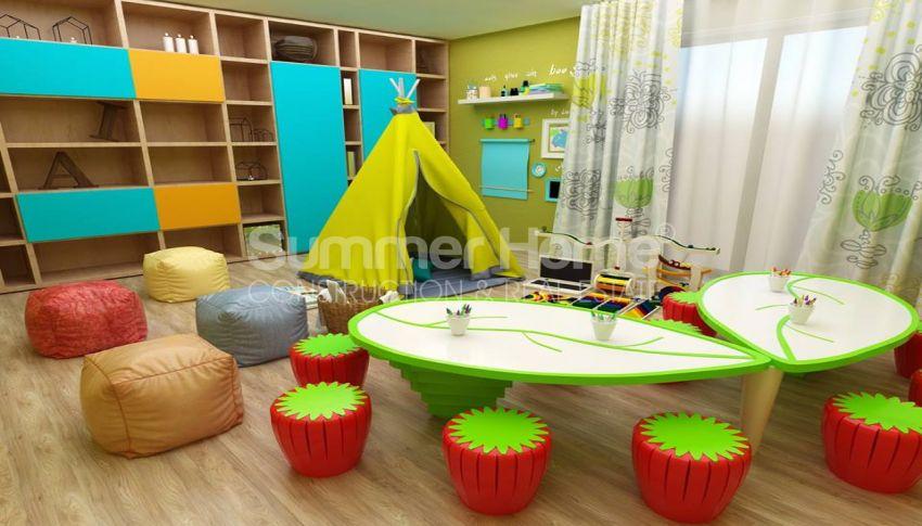 آپارتمان های شگفت انگیز روبروی ساحل  با موقعیت ایده آل در محمودلار، آلانیا interior - 8