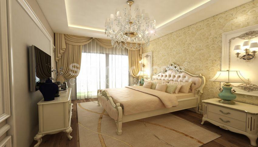 آپارتمان های شگفت انگیز روبروی ساحل  با موقعیت ایده آل در محمودلار، آلانیا interior - 10