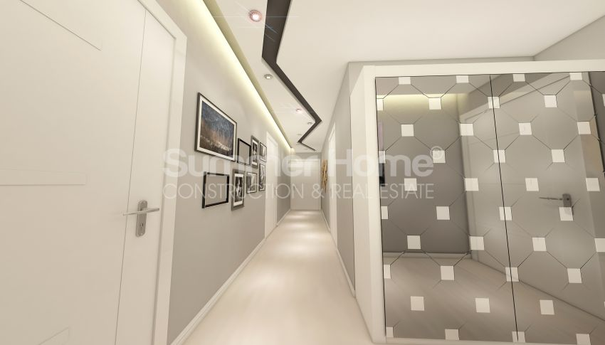 آپارتمان های شگفت انگیز روبروی ساحل  با موقعیت ایده آل در محمودلار، آلانیا interior - 11
