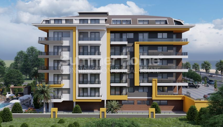 阿拉尼亚/凯斯泰勒海边的优雅公寓和复式公寓,多种户型 general - 3