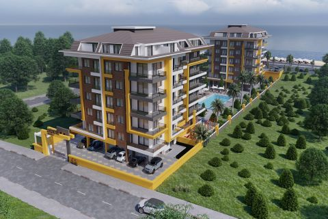 Various Elegant Apartments and Duplex Apartments by the Sea of Kestel,Alanya