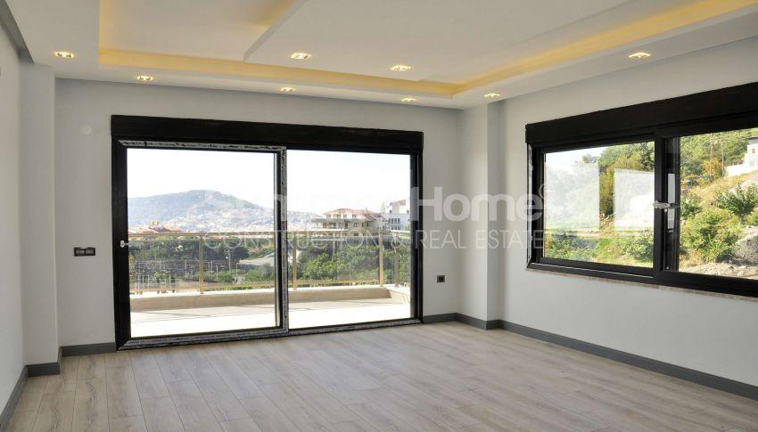 آپارتمان های دوبلکس زیبا در یک منطقه آرام در آلانیا interior - 12