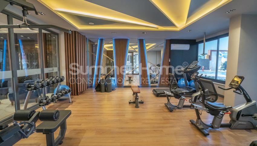 Hoge kwaliteit appartementen met een geweldig uitzicht op zee, strandzijde in Alanya Mahmutlar facility - 18