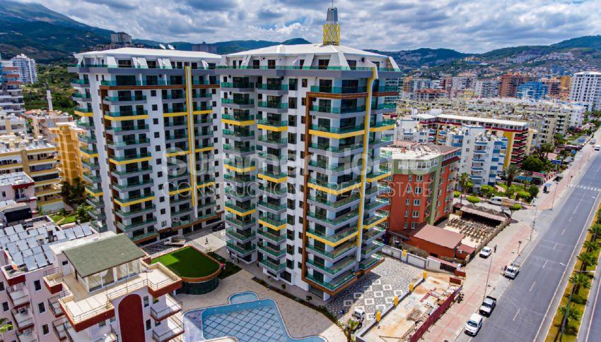 Hoge kwaliteit appartementen met een geweldig uitzicht op zee, strandzijde in Alanya Mahmutlar general - 1