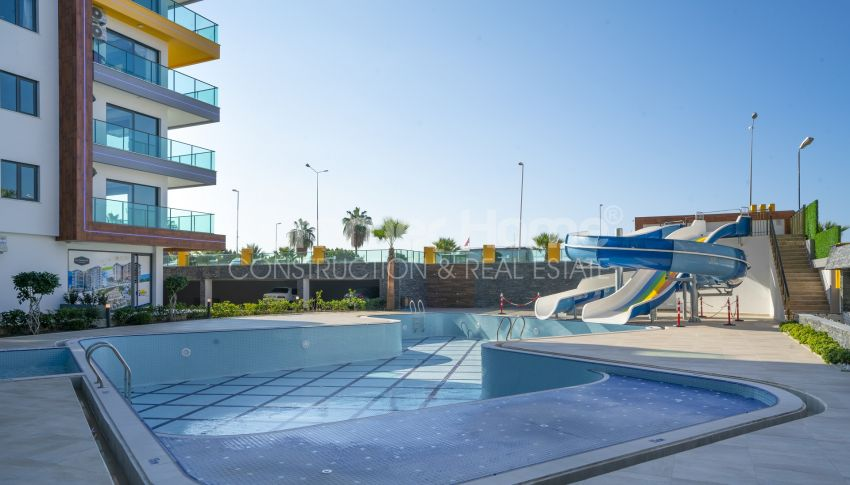 Hoge kwaliteit appartementen met een geweldig uitzicht op zee, strandzijde in Alanya Mahmutlar general - 4