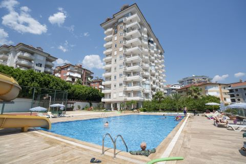 Gezellig appartment te koop in Alanya, Cikcilli