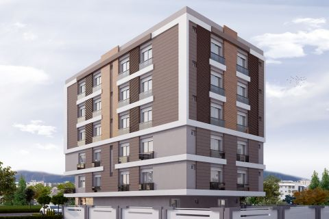 New Scandinavian Designed Apartments in Antalya Centre