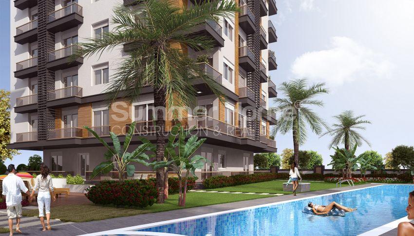 Grote appartementen te koop in Antalya general - 1