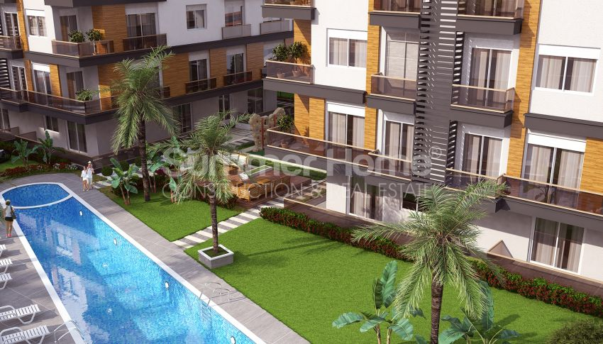 Grote appartementen te koop in Antalya general - 2