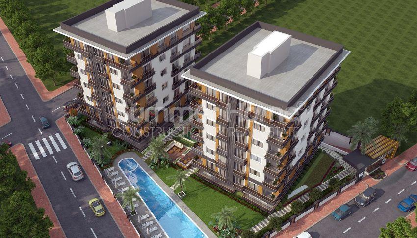 Grote appartementen te koop in Antalya general - 4