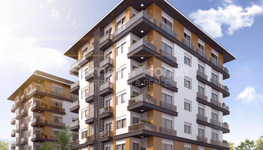 Grote appartementen te koop in Antalya general - 5