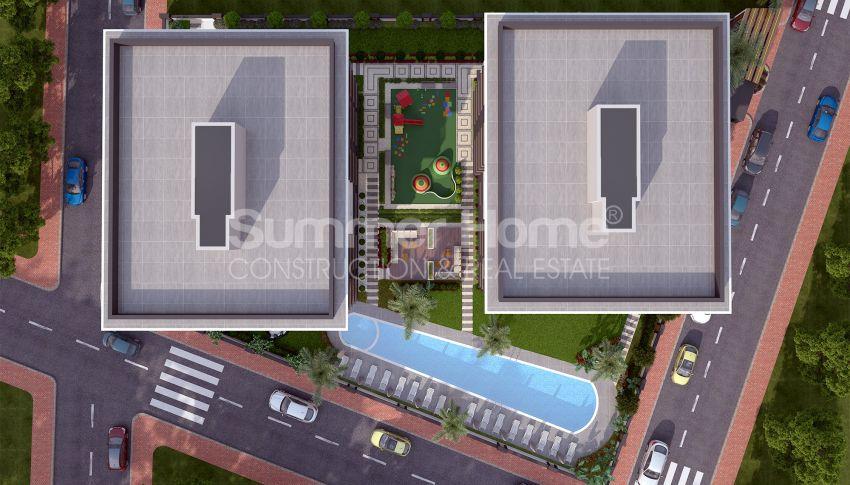 Grote appartementen te koop in Antalya plan - 1