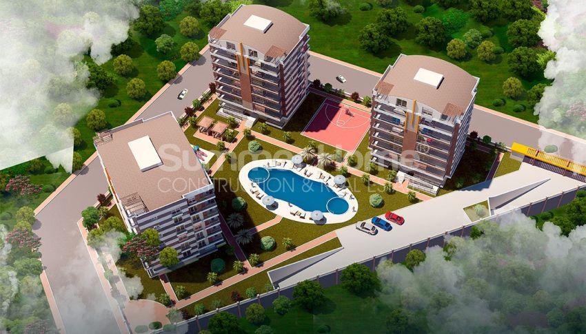 安塔利亚/戈切勒地区的天然绿地间的崭新住宅区 general - 2