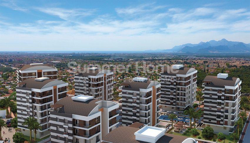 安塔利亚/戈切勒地区的天然绿地间的崭新住宅区 general - 4