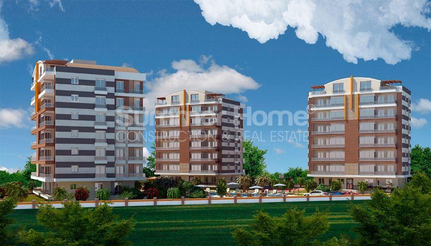 安塔利亚/戈切勒地区的天然绿地间的崭新住宅区 general - 6