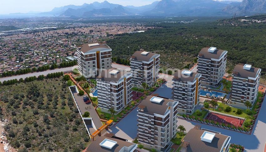安塔利亚/戈切勒地区的天然绿地间的崭新住宅区 general - 8