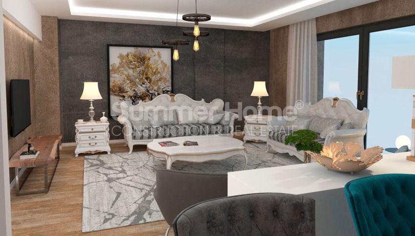 安塔利亚/戈切勒地区的天然绿地间的崭新住宅区 interior - 15