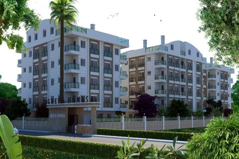 Cheap Apartments With Both View of The Sea and Mountains in Konyaalti, Antalya