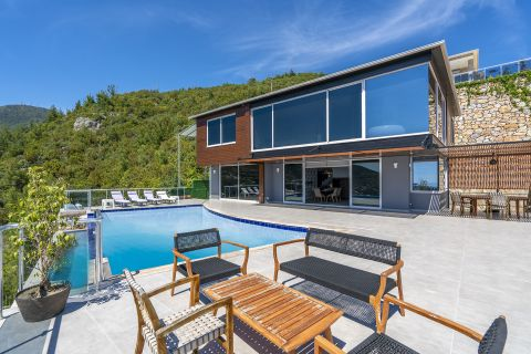 Brand New Villa For Sale in Hasbahche, Alanya