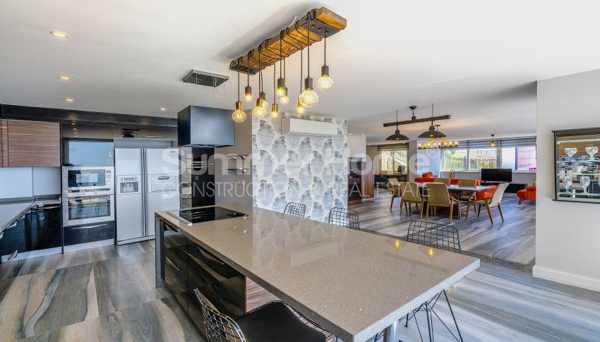 Une villa neuve a vendre a Hasbahche, Alanya interior - 7