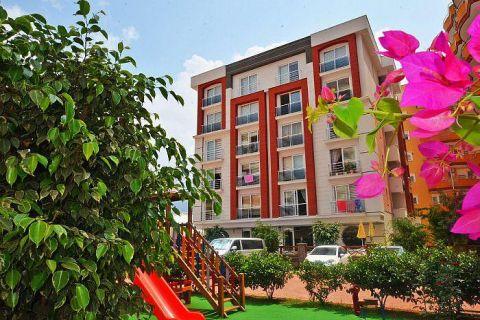 Malý apartmán neďaleko pláže v Mahmutlari, Alanya