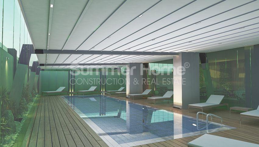 آپارتمانهای زیبا نزدیک ساحل معروف در مرکز آلانیا facility - 4