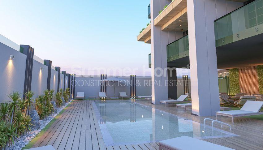 آپارتمانهای زیبا نزدیک ساحل معروف در مرکز آلانیا general - 1