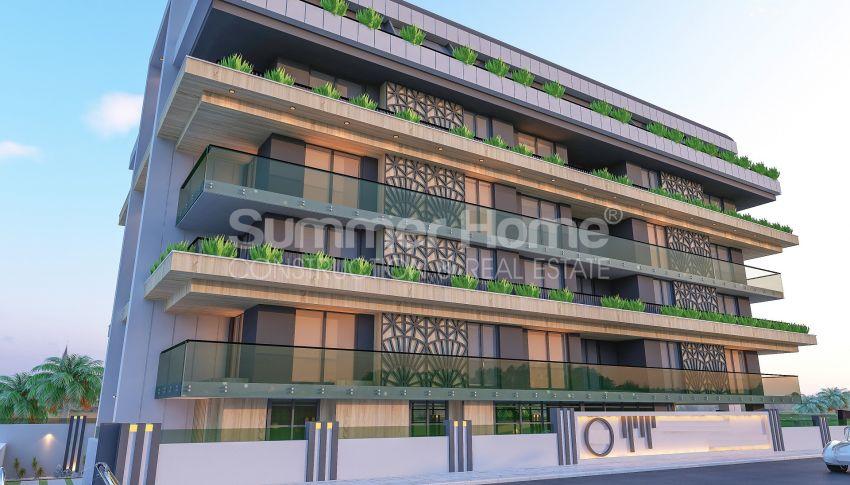 آپارتمانهای زیبا نزدیک ساحل معروف در مرکز آلانیا general - 2