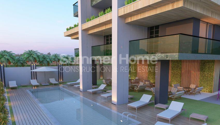 آپارتمانهای زیبا نزدیک ساحل معروف در مرکز آلانیا general - 3