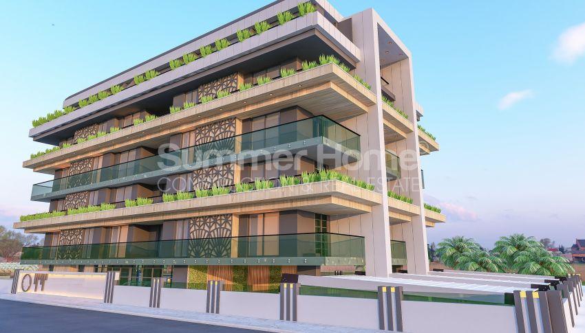 آپارتمانهای زیبا نزدیک ساحل معروف در مرکز آلانیا general - 4