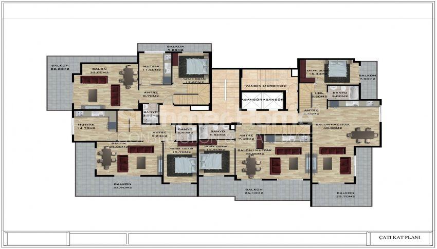 阿拉尼亚/卡吉科克的美丽待售公寓 plan - 1