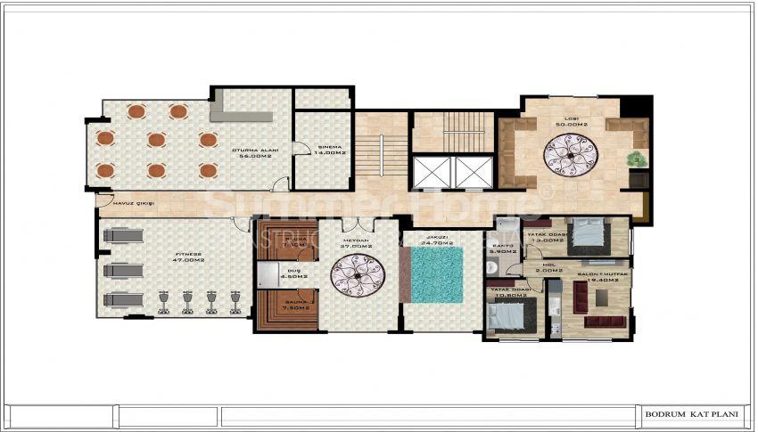 阿拉尼亚/卡吉科克的美丽待售公寓 plan - 5